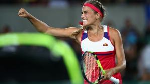 Олимпийската шампионка заменя контузена в основната схема на US Open