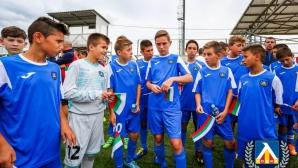 Децата на Левски с поражение от Цървена звезда в Москва