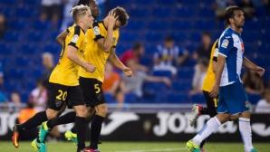 Малага се върна от 0:2 в Барселона (видео)