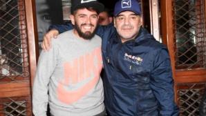 Марадона най-после призна публично сина си