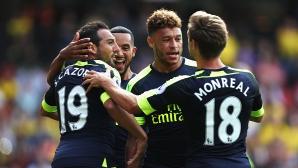 Уотфорд - Арсенал 0:3, гледайте тук