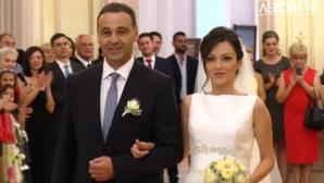 Николай Илиев омъжи дъщеря си на стилна церемония