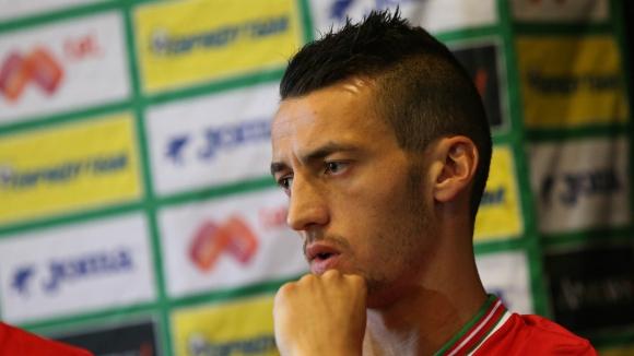 Живко Миланов отпадна от мача с Люксембург