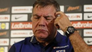 Алърдайс взел трудно решението да не повика Баркли в националния отбор