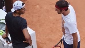 Федерер и Надал си разменят комплименти