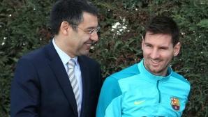 Барселона и Меси преговарят за нов договор