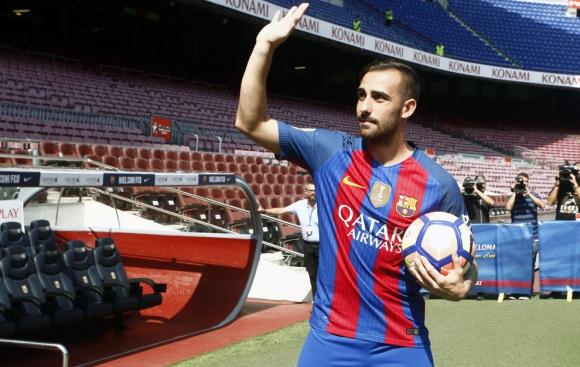 Алкасер: Очаквам да съм на нивото на Барселона