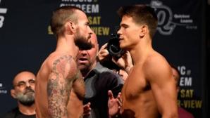 Пълен запис от двубоя на CM Punk в UFC (ВИДЕО)