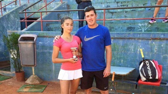 Мелади Тодорова бе на крачка от трофея на двойки в Португалия