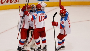 Русия натупа Северна Америка на Световната купа по хокей на лед