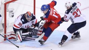 Русия - Канада и Европа - Швеция са полуфиналите на Световната купа по хокей на лед