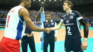 Кубинските волейболисти се гаврили 90 минути с финландка