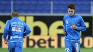 Минев и Краев тренират пълноценно