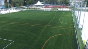Легенда на Ботев (Пд) откри футболно игрище в Пловдив