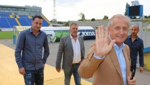 Спас Русев пожела успех на футболистите на Левски в предстоящите двубои