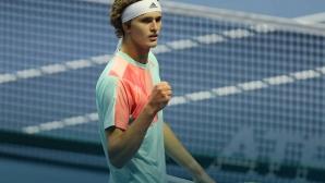Младокът Зверев изненада фаворита Вавринка на финала в Санкт Петербург