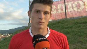 Юноша на ЦСКА с гол в Италия