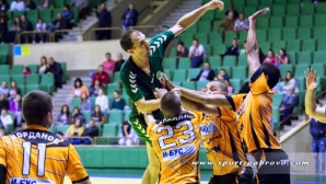 Новакът Чардафон оглави класирането в хандбалното първенство