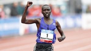 Кипиего гони трети поредна победа на маратона на Амстердам