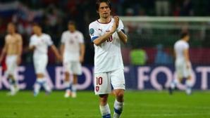 Чехия без ключови халфове срещу Германия