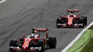 Аривабене хвали Райконен и Фетел въпреки кризата във Ферари