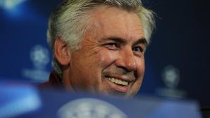 """Анчелоти: Мадрид е удоволствие, но """"Калдерон"""" не е"""