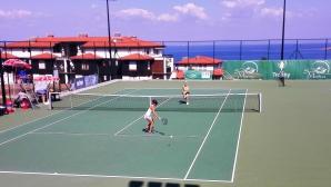 Три българки се класираха за втория кръг на турнира по тенис в Созопол