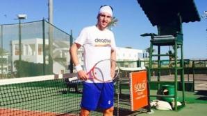 Васко Младенов напусна турнира в Киев