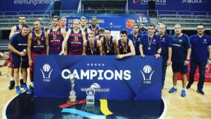 Александър Везенков и Барселона спечелиха Лига Каталана