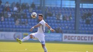 Благой Георгиев нe e имал намерение да се отказва от футбола