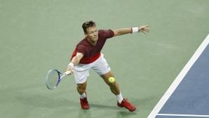 Бердих на полуфинал в Китай