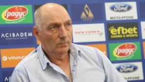 Андрей Желязков: Ще се раделим цивилизовано с Левски