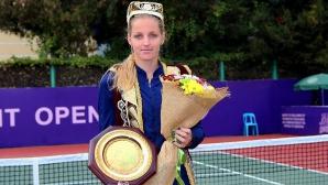 Кристина Плишкова грабна титлата в Ташкент
