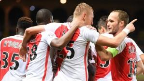 Монако съсипа новак със седем гола и се върна на върха