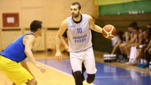 Павел Маринов с 15 точки при загуба на Питещ в турнира за Купата на Румъния