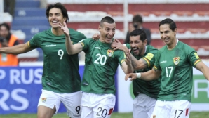Пабло Ескобар вкара два при равенство на Боливия