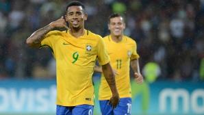 И токов удар не спря Бразилия по пътя към върха