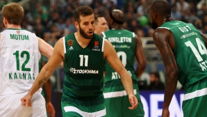 Панатинайкос постигна победа у дома срещу Жалгирис в Евролигата