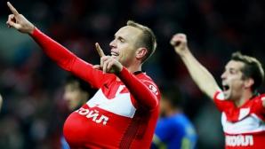 Един гол срещу 9 човека върна Спартак (М) на първото място (видео)