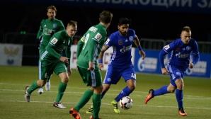 Благо Георгиев игра при исторически успех на новия му отбор (видео)