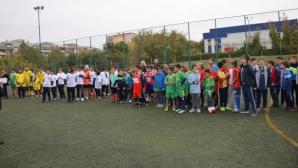Футболен турнир събра 11 отбора от 5 русенски училища