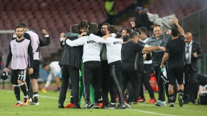 Треньорът на Бешикташ: Двубоят бе вълнуващ, а победата заслужена