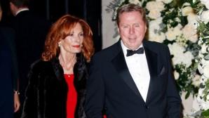 За малко Хари Реднап да убие жена си (снимки)