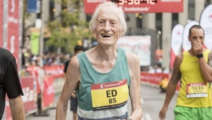 85-годишен със световен рекорд в маратона