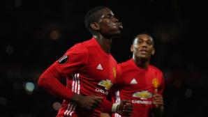 Ман Юнайтед се развихри в Лига Европа (видео)