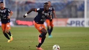 Голмайсторът на Монпелие претърпя операция и ще отсъства от игра до края на сезона