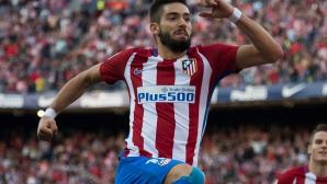 Караско удължи договора си с Атлетико Мадрид