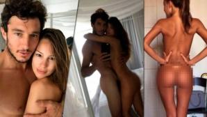 Секси Пампита се снима гола с гаджето си тенисист