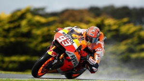 """Маркес си заслужи полпозишън на """"Филип Айлънд"""", Yamaha търпят поражение"""