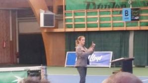 Маги Малеева взе участие в треньорска конференция на Тенис Европа